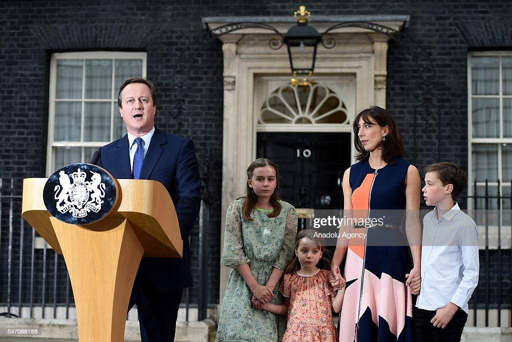 David Cameron's last day as the UK's Prime Minister : News Photo