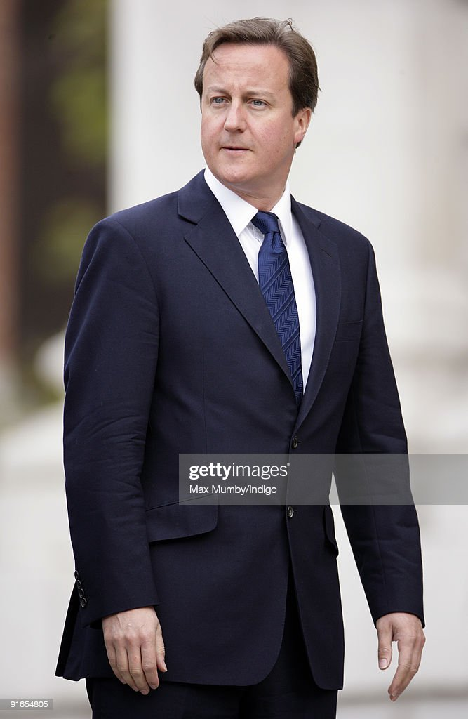 David Cameron MP attends a service of commemoration to mark the end of combat operations in Iraq at St Paul's Cathedral on October 9, 2009 in London, England.