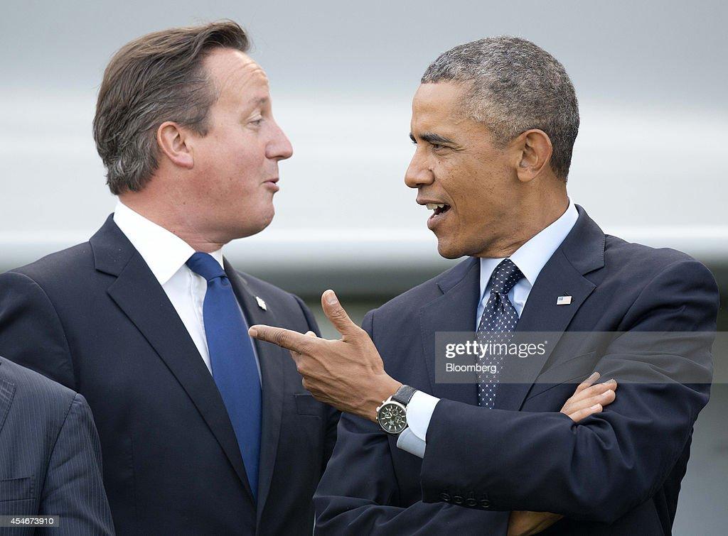 World Leaders Attend The North Atlantic Treaty Organization (NATO) Summit : News Photo