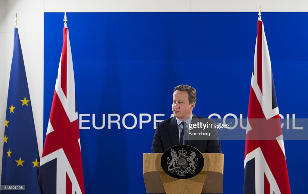 EU Leaders Meet in Post-Brexit Conference : News Photo