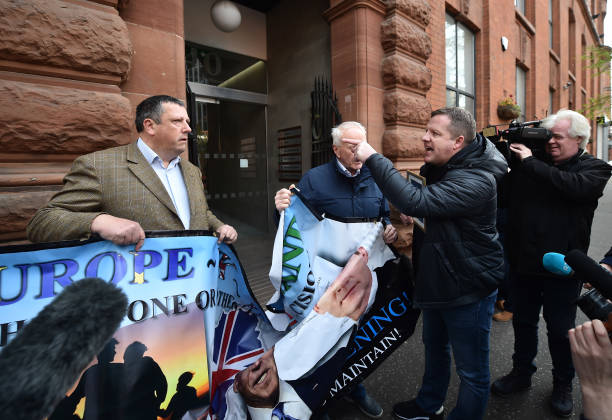 GBR: Loyalist Protest Against The Northern Ireland Protocol