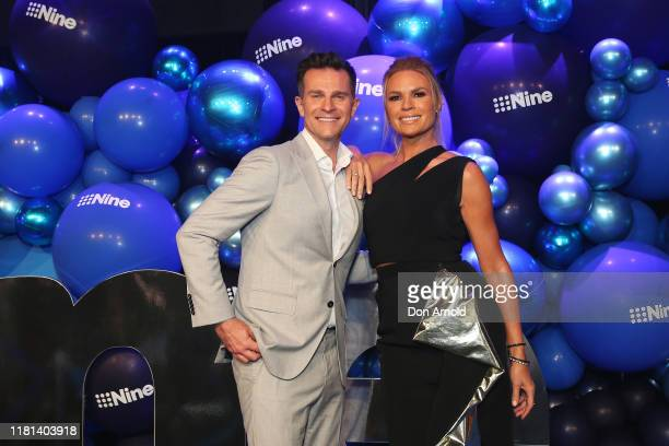 David Campbell and Sonia Kruger attend the Nine 2020 Upfronts on October 16 2019 in Sydney Australia