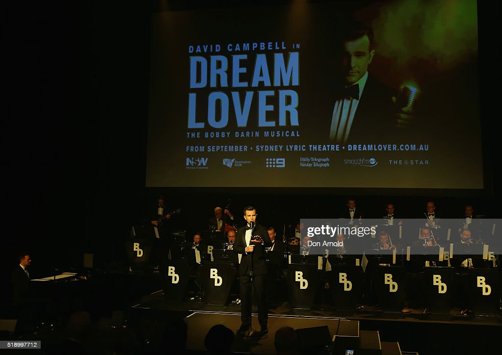 David Campbell performs the role of Bobby Darin during the