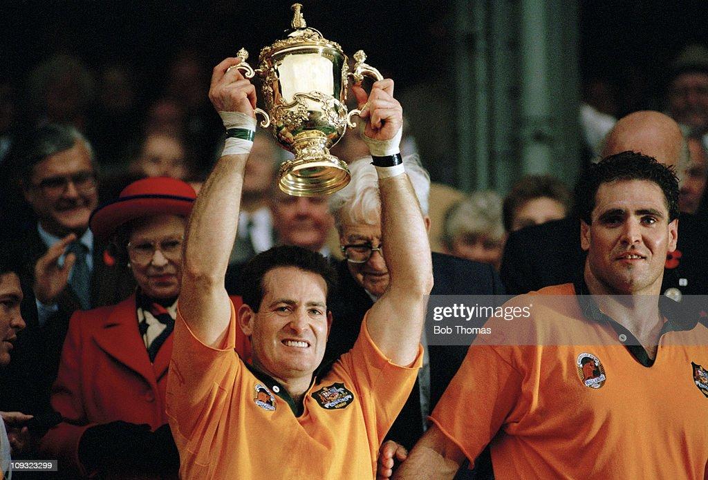 Rugby Union World Cup Final - England v Australia : News Photo