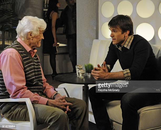 David Canary and Adam Mayfield in a scene that airs the week of April 6 2009 on Walt Disney Television via Getty Images Daytime's All My Children All...