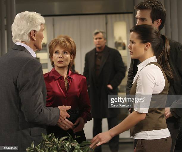 David Canary , Julia Barr , Michael E. Knight , Melissa Claire Egan and Adam Mayfield in a scene that airs the week of March 1, 2010 on Walt Disney...