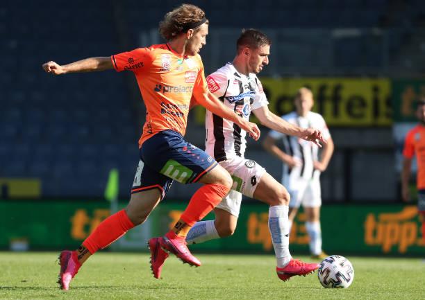 AUT: SK Puntigamer Sturm Graz v TSV Prolactal Hartberg - tipico Bundesliga