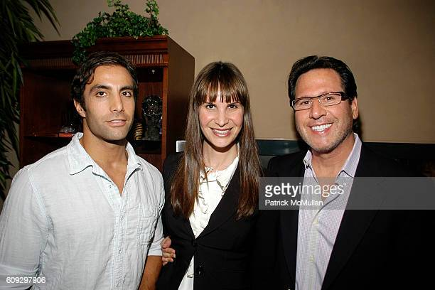 David Carey Gayle Perry and Dr Howard Sobel attend BOBBY AND JILL ZARIN'S 4TH OF JULY CELEBRATION at Sag Harbor on July 4 2007
