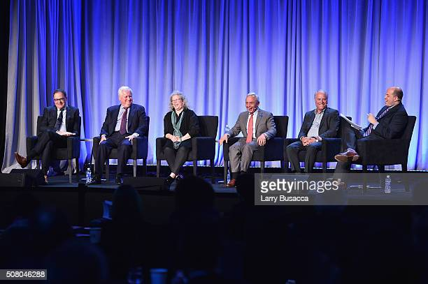 David Carey, president of Hearst Magazines, Joseph A. Ripp, chairman and CEO of Time Inc., Maria Rodale, CEO and chairman of Rodale Inc., Stephen M....