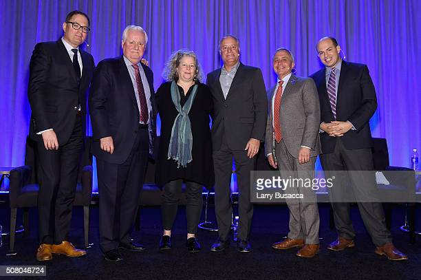 David Carey, president of Hearst Magazines, Joseph A. Ripp, chairman and CEO of Time Inc., Maria Rodale, CEO and chairman of Rodale Inc., Robert A....