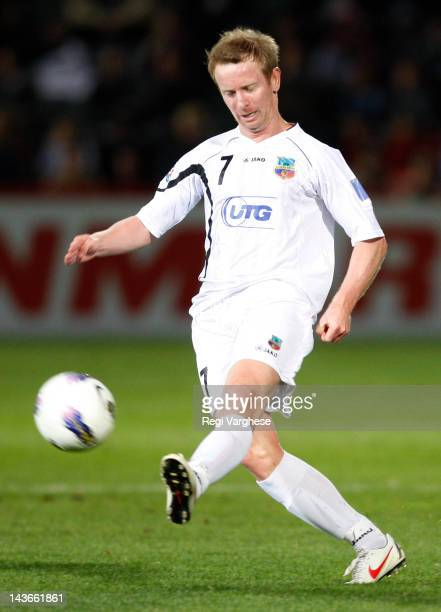 David Carney of Bunyodkor in action during the AFC Asian Champions League match between Adelaide United and Bunyodkor at Hindmarsh Stadium on May 2...