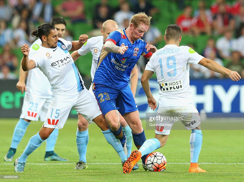 A-League Rd 4 - Melbourne City FC v Newcastle : News Photo