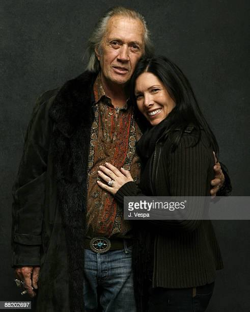 David Carradine and Annie Carradine