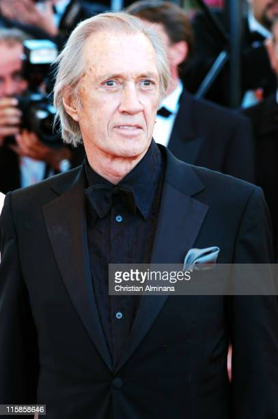 David Carradine during 2004 Cannes Film Festival The Life and Death of Peter Sellers Premiere in Cannes France