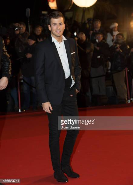 David Carreira attends the 15th NRJ Music Awards at Palais des Festivals on December 14 2013 in Cannes France