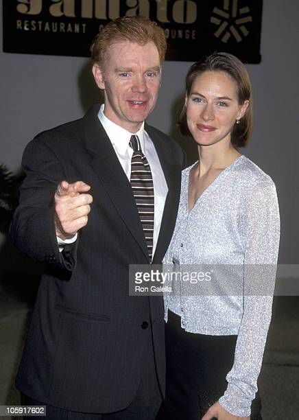 David Caruso and Margaret Buckley during CBS Affiliates Party May 30 1997 at Century Plaza Hotel in Los Angeles California United States
