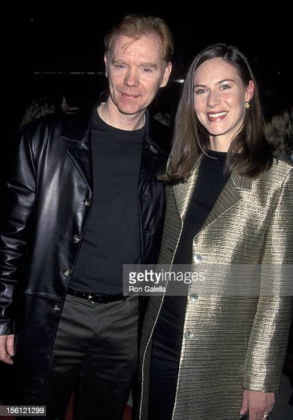 David Caruso and Margaret Buckley during 'Proof of Life' Los Angeles Premiere at The Academy in Beverly Hills California United States