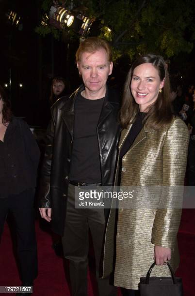 David Caruso and Margaret Buckley during Proof of Life Premiere in Los Angeles California United States