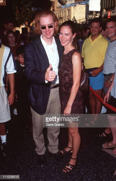 David Caruso and Margaret Buckley during Sherry Lansing Honored with a Star on the Hollywood Walk of Fame at 6925 Hollywood Blvd in Hollywood...