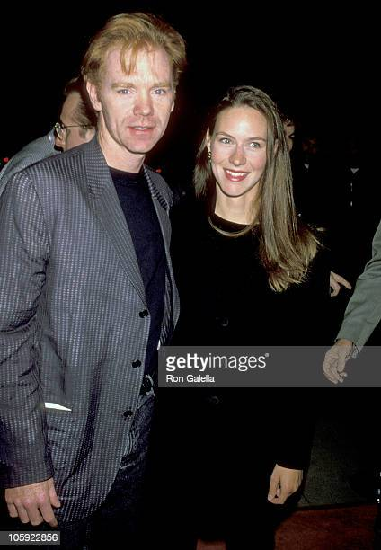 David Caruso and Margaret Buckley during The Professional Los Angeles Premiere at Academy Theatre in Beverly Hills California United States