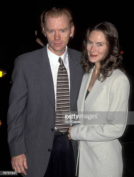 David Caruso and Margaret Buckley