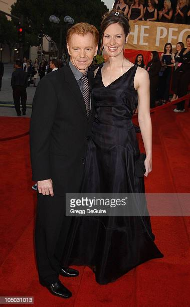 David Caruso and wife Margaret during The 29th Annual People's Choice Awards Arrivals by Gregg DeGuire at Pasadena Civic Auditorium in Pasadena...