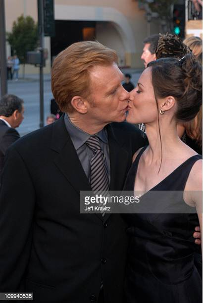 David Caruso and wife Margaret during The 29th Annual People's Choice Awards at Pasadena Civic Auditorium in Pasadena CA United States