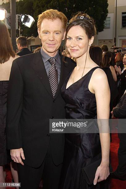 David Caruso and wife Margaret during The 29th Annual People's Choice Awards Arrivals at Pasadena Civic Auditorium in Pasadena California United...