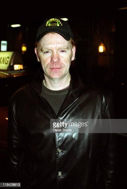David Caruso during Celebrity sightings at the Rihga Royal Hotel May 14 2002 at Rihga Royal Hotel in New York City New York United States