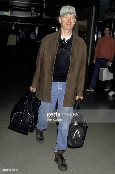 David Caruso during David Caruso Sighting at Los Angeles International Airport March 10 1997 at Los Angeles International Airport in Los Angeles...
