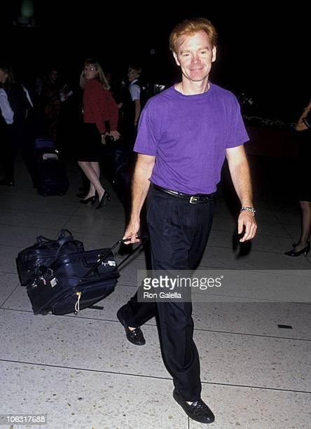 David Caruso during David Caruso Sighting at Los Angeles International Airport August 19 1994 at Los Angeles International Airport in Los Angeles...