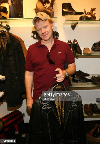 David Caruso during Donald J Pliner Instore To Benefit Cure Autism Now in Los Angeles California United States