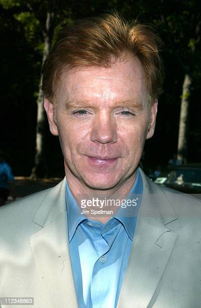 David Caruso from 'CSI Miami' during CBS Television 20022003 Upfront Party at Tavern On the Green in New York City New York United States