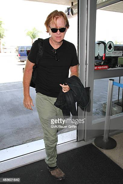 David Caruso is seen at LAX on August 10 2015 in Los Angeles California