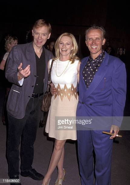 David Caruso Marg Helgenberger and Peter Weller during Screening of Showtime's 'Elmore Leonard's Gold Coast' at Directors Guild Theater in Hollywood...