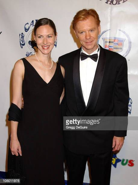 David Caruso wife during The 15th Carousel Of Hope Ball Arrivals at Beverly Hilton Hotel in Beverly Hills California United States