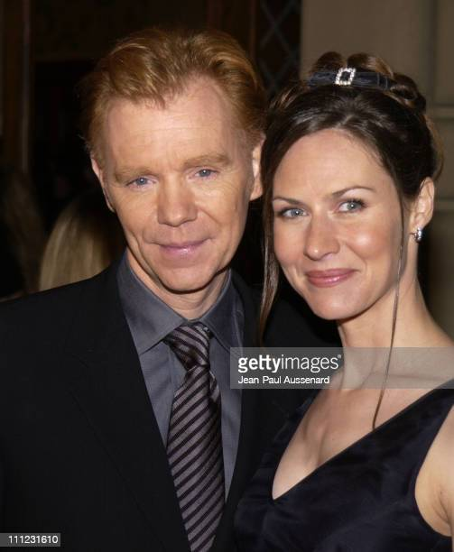 David Caruso wife Margaret during The 29th Annual People's Choice Awards Arrivals at Pasadena Civic Auditorium in Pasadena California United States