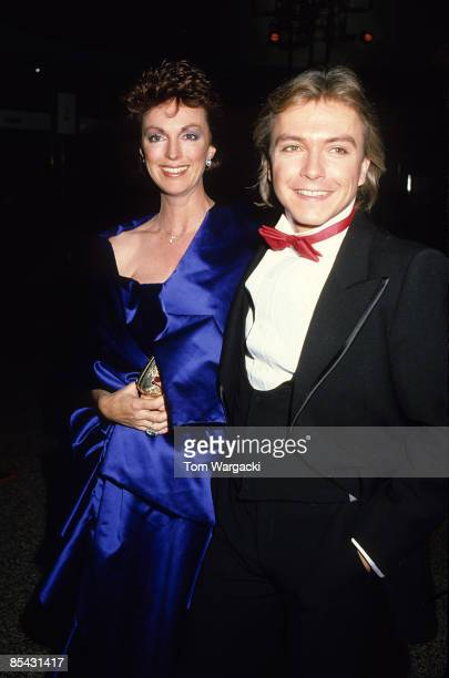 David Cassidy and Fiancee Meryl Tanz