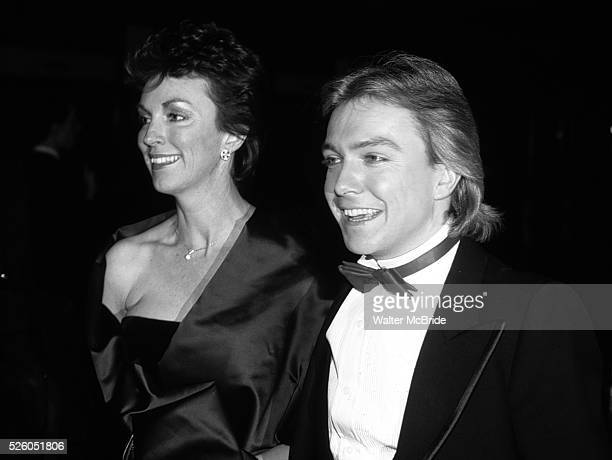 David Cassidy and MerylAnn Tanz in New York City on May 1 1983