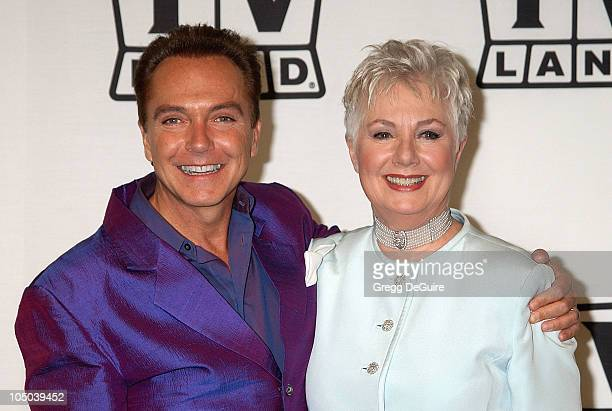 David Cassidy and Shirley Jones during TV Land Awards: A Celebration of Classic TV - Press Room at Hollywood Palladium in Hollywood, California,...