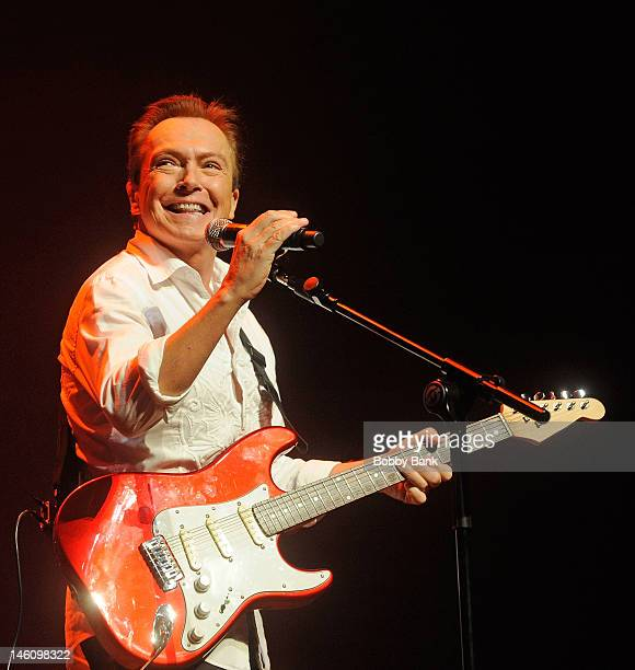 David Cassidy attends The 5th Annual New Jersey Hall Of Fame Induction Ceremony at New Jersey Performing Arts Center on June 9 2012 in Newark New...