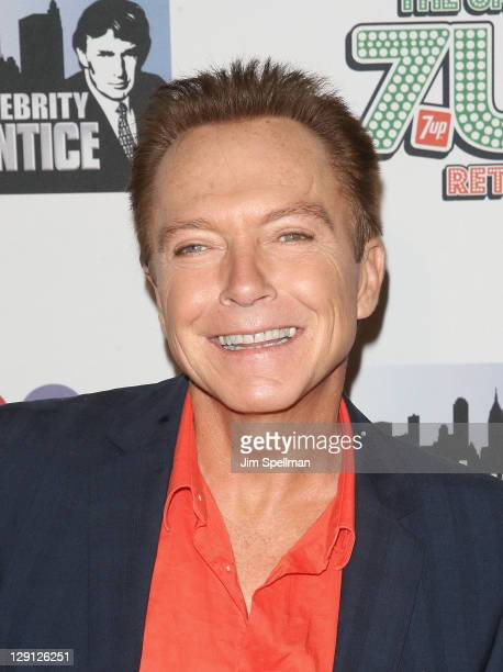 David Cassidy attends 'The Celebrity Apprentice' Season 4 Finale at Trump SoHo on May 22 2011 in New York City