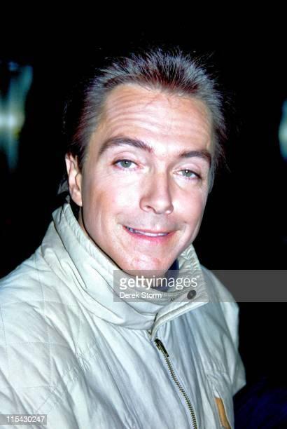 David Cassidy during David Cassidy Sighting at Rockefeller Center January 28 1994 at Rockefeller Center in New York City New York United States