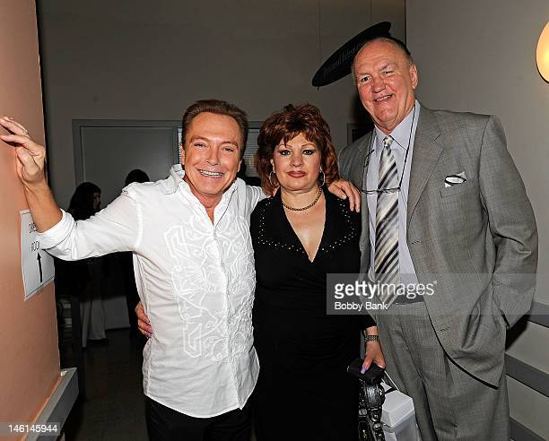 David Cassidy Linda Wepner and Chuck Wepner attends The 5th Annual New Jersey Hall Of Fame Induction Ceremony at New Jersey Performing Arts Center on...