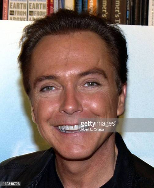 David Cassidy signs copies of his latest CD 'Then And Now'
