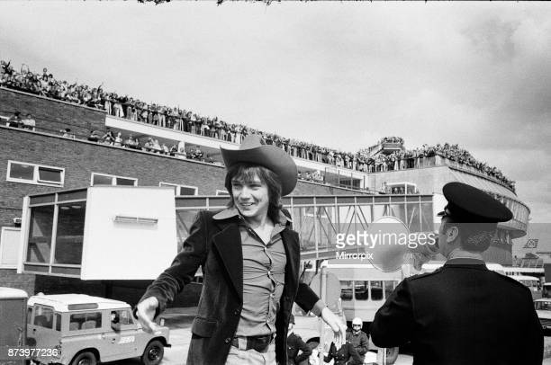David Cassidy, singer, actor and musician, departs from Heathrow Airport, seen off by thousands of fans. David Bruce Cassidy is widely known for his...