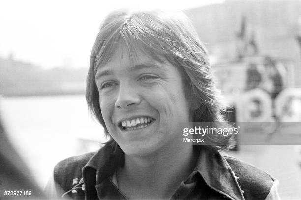 David Cassidy, singer and actor, pictured in 1972. David is pictured aboard the 120 foot luxury yacht 'Ocean Sabre' which he has personally chartered...