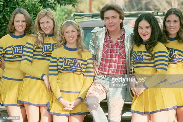 David Cassidy with UCLA Cheerleaders