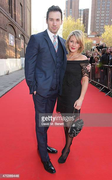 David Caves and Lisa Dillon arrive at The Old Vic for A Gala Celebration in Honour of Kevin Spacey as the artistic director's tenure comes to an end...