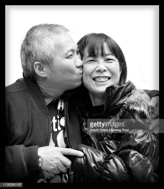 David Chan and his wife Cecilia Tsui Quote i love u forever Valentine's Backpage 15 February 2012